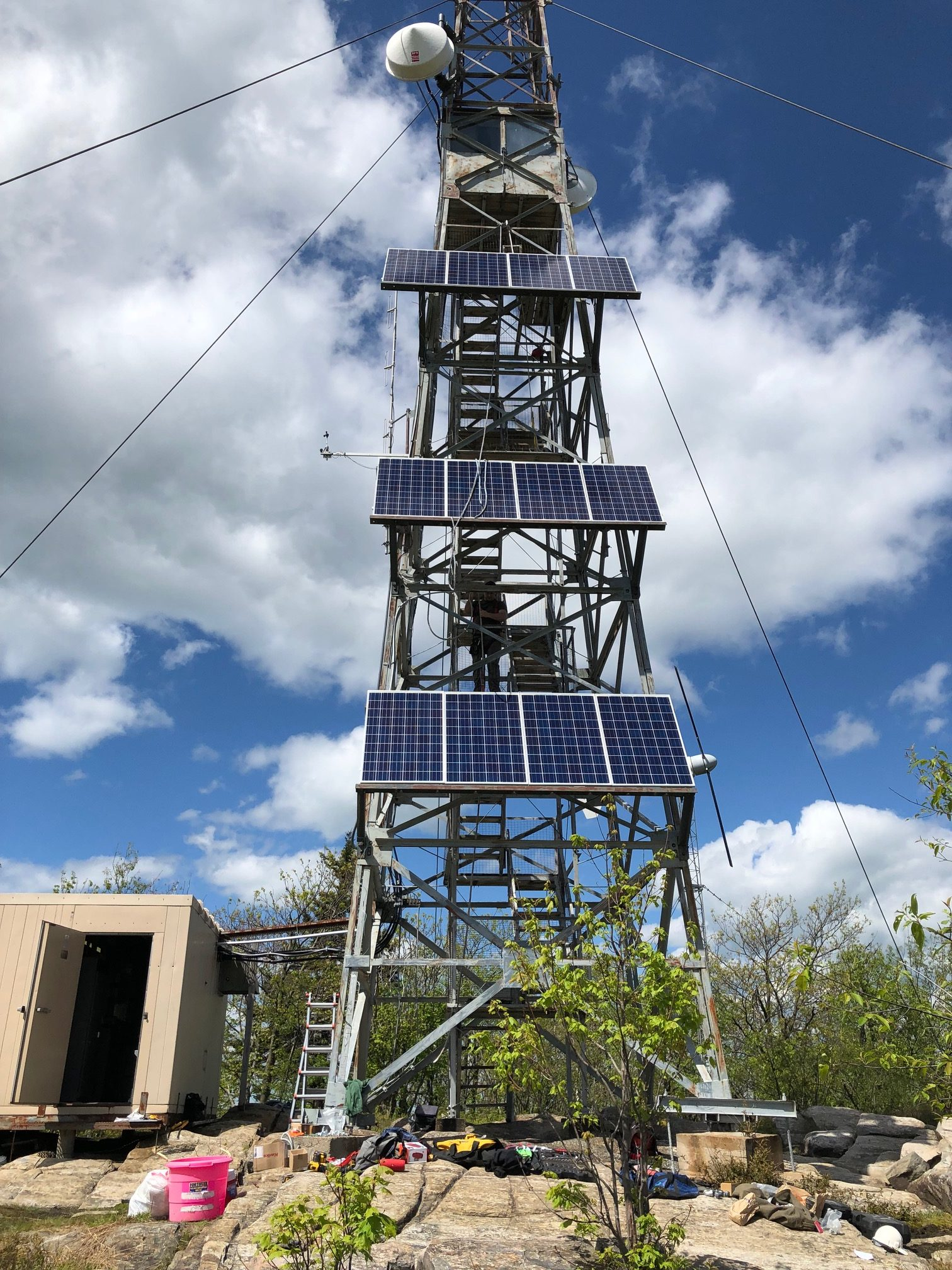 NYS Police Communications Tower